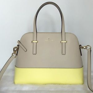 Kate Spade Two Tone Leather Satchel